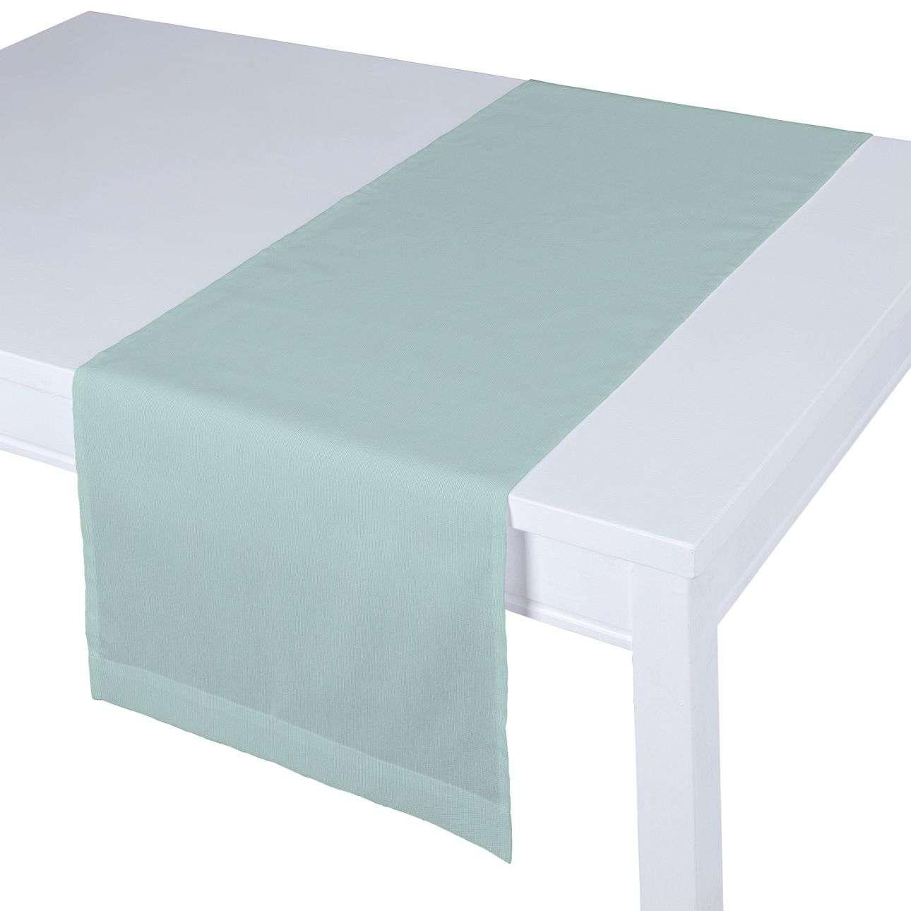 Rechteckiger Tischläufer 40 x 130 cm von der Kollektion Cotton Panama, Stoff: 702-10