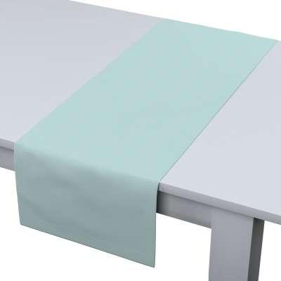 Rechteckiger Tischläufer 702-10 hellblau Kollektion Cotton Panama