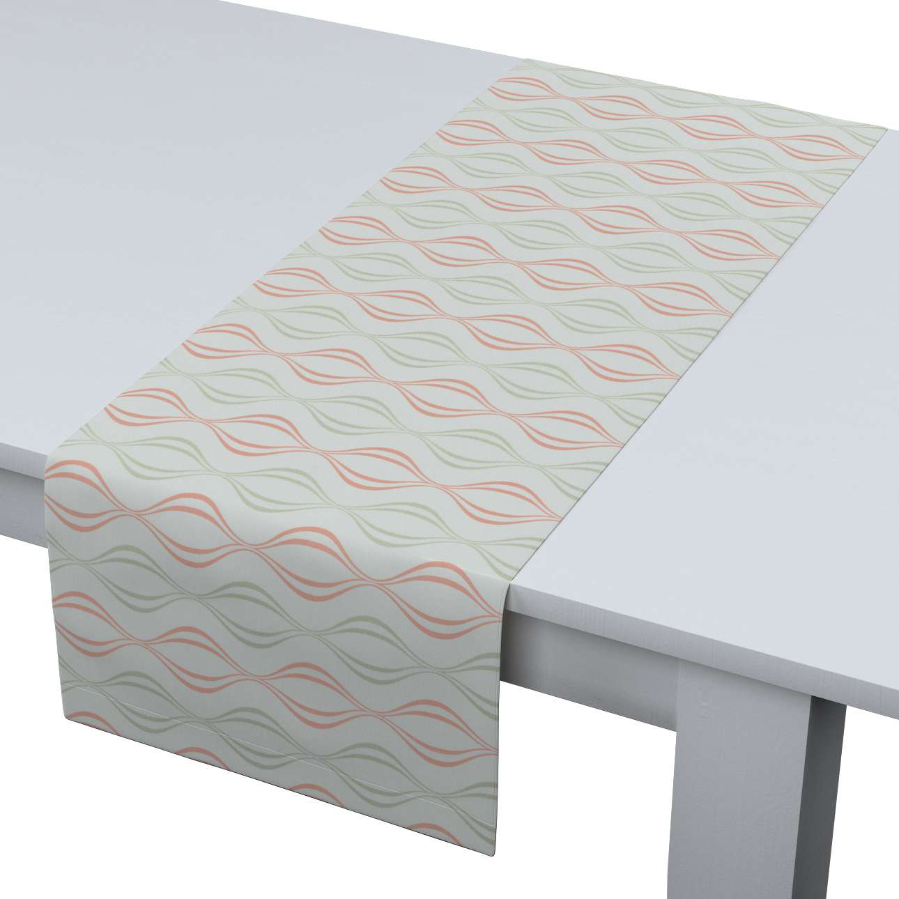 Table runner 40 x 130 cm (16 x 51 inch) in collection Geometric, fabric: 141-49