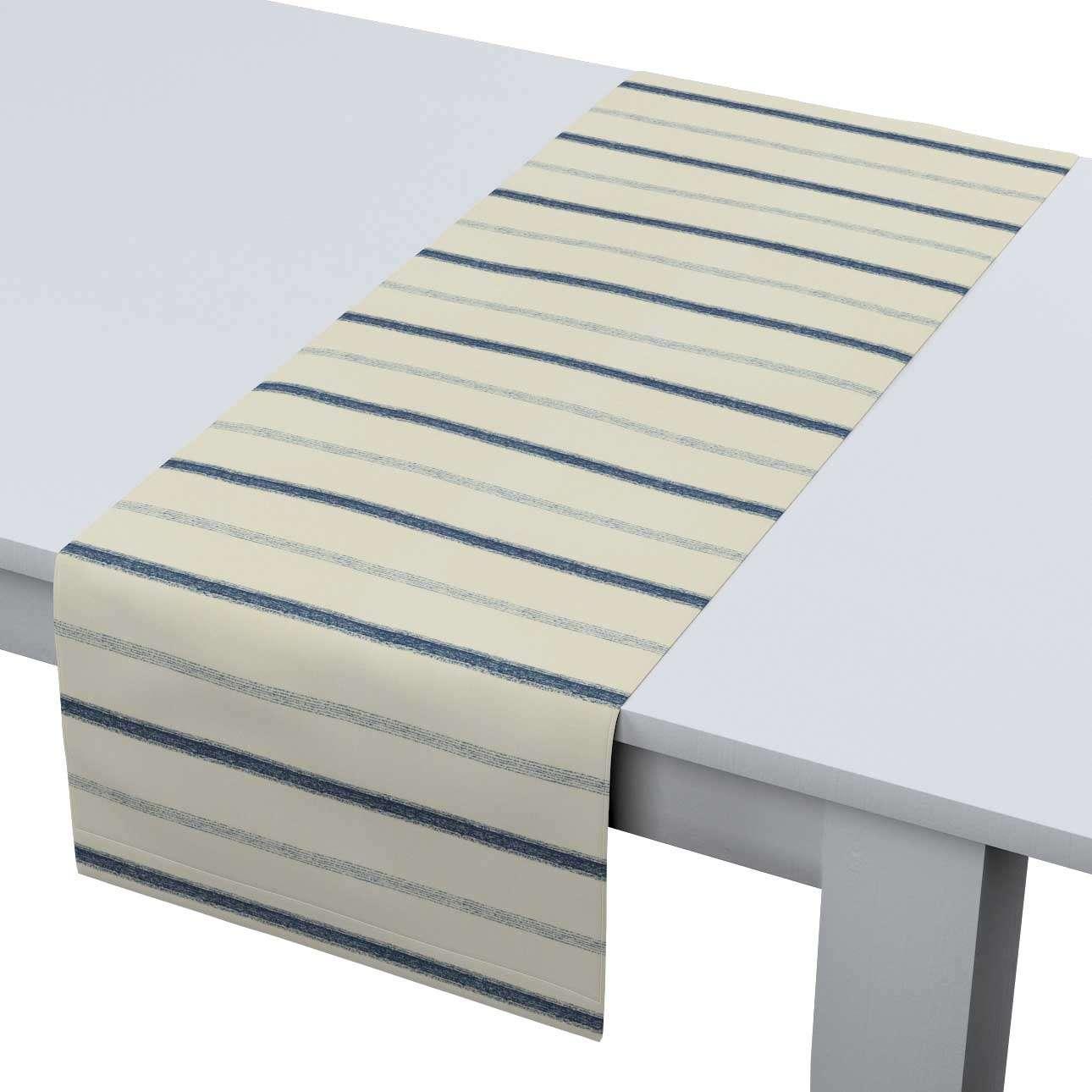 Rechteckiger Tischläufer 40 x 130 cm von der Kollektion Avinon, Stoff: 129-66