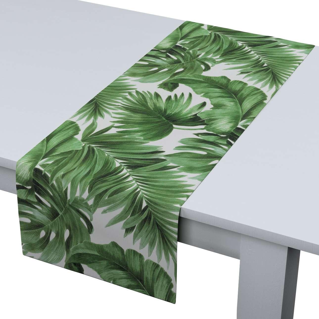 Rechteckiger Tischläufer von der Kollektion Urban Jungle, Stoff: 141-71