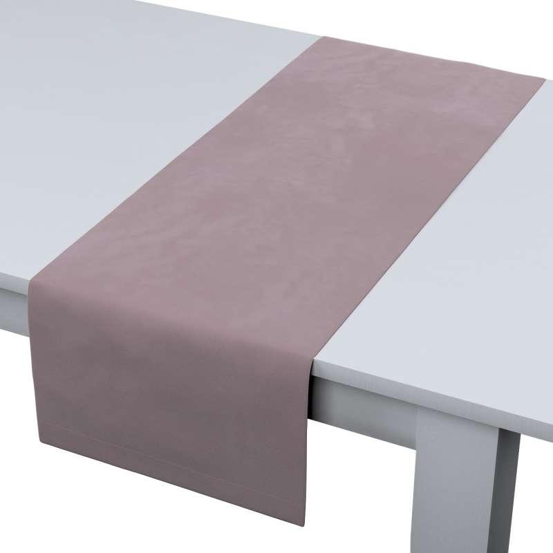 Rechthoekige tafelloper van de collectie Velvet, Stof: 704-14