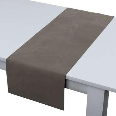 Rechthoekige tafelloper 704-19 grijs-beige Collectie Velvet