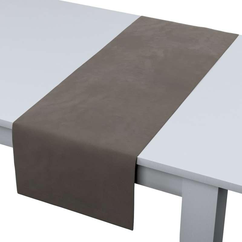 Rechthoekige tafelloper van de collectie Velvet, Stof: 704-19