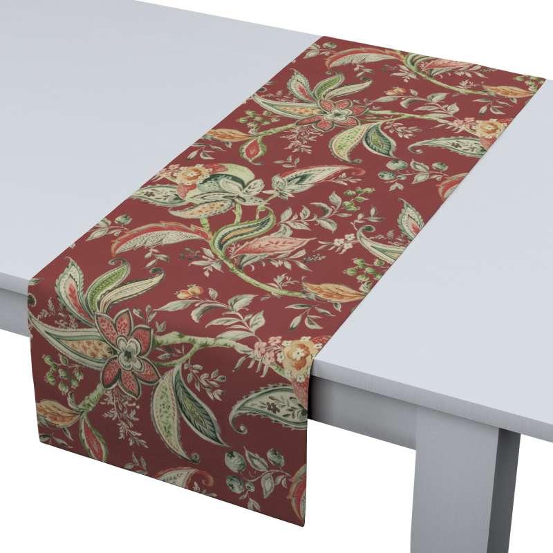 Rechthoekige tafelloper van de collectie Gardenia, Stof: 142-12