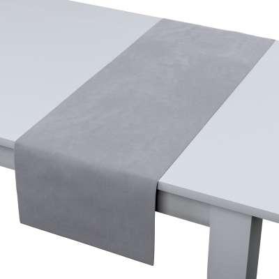 Štóla na stôl 704-24 strieborno - sivá Kolekcia Velvet