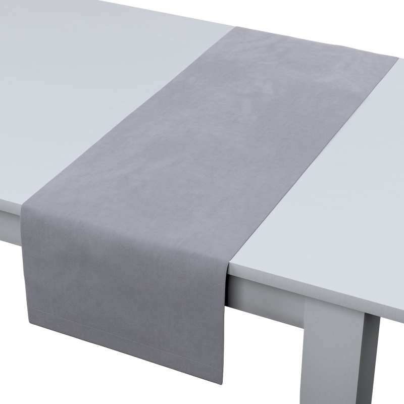Rechthoekige tafelloper van de collectie Velvet, Stof: 704-24