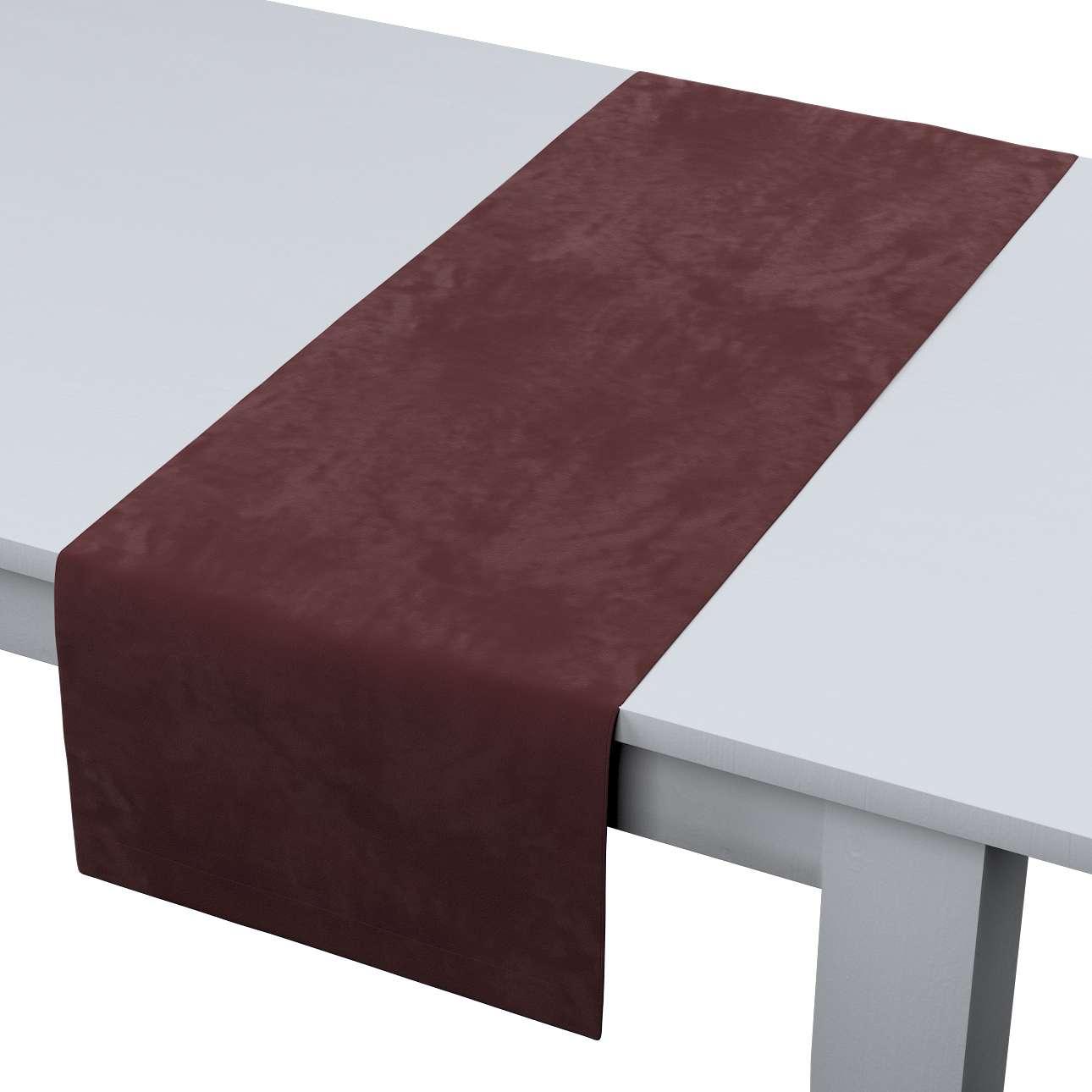 Rektangulär bordslöpare i kollektionen Velvet, Tyg: 704-26