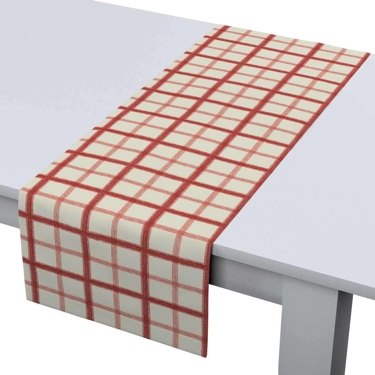 Rechteckiger Tischläufer 40 x 130 cm von der Kollektion Avinon, Stoff: 131-15