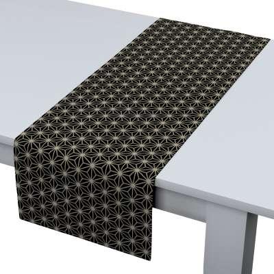 Bieżnik prostokątny w kolekcji Black & White, tkanina: 142-56