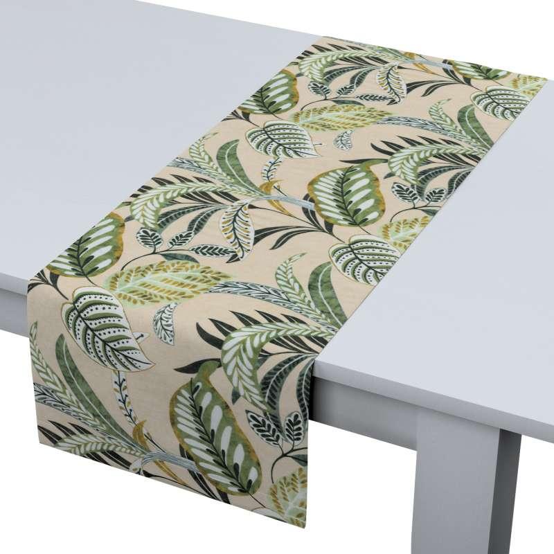 Rechthoekige tafelloper van de collectie Tropical Island, Stof: 142-96