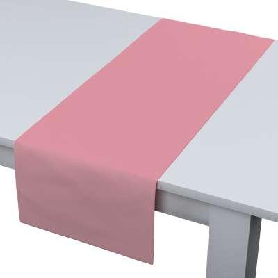 Rechthoekige tafelloper 133-62 vuil-roze Collectie Loneta