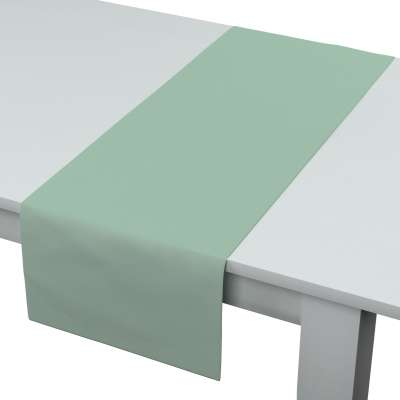 Rechteckiger Tischläufer 133-61 grün Kollektion Loneta