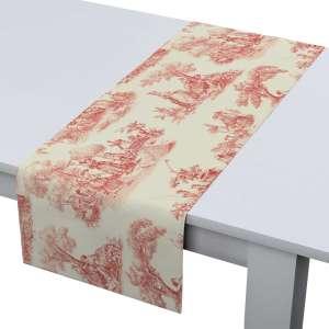 Rechteckiger Tischläufer 40 x 130 cm von der Kollektion Avinon, Stoff: 132-15