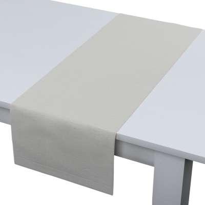 Rechteckiger Tischläufer 159-06 altweiß Kollektion Leinen