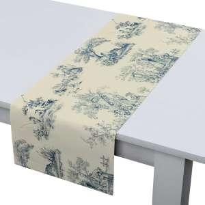 Rechteckiger Tischläufer 40 x 130 cm von der Kollektion Avinon, Stoff: 132-66