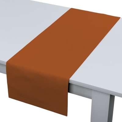 Rechteckiger Tischläufer 702-42 Karamell Kollektion Cotton Panama