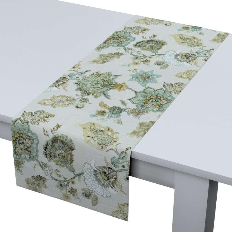 Rechthoekige tafelloper van de collectie Flowers, Stof: 143-67
