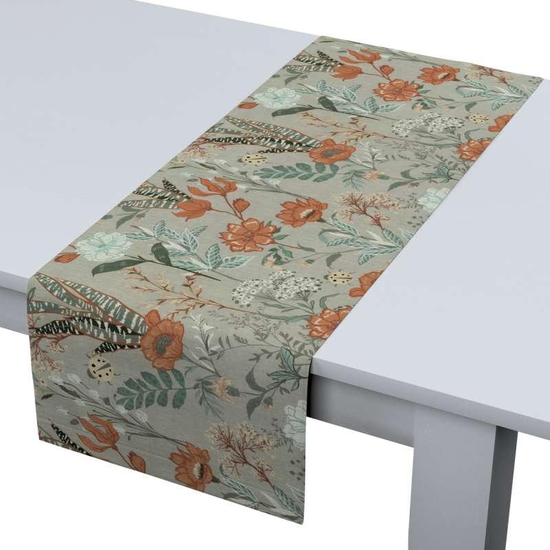 Štóla na stôl V kolekcii Flowers, tkanina: 143-70