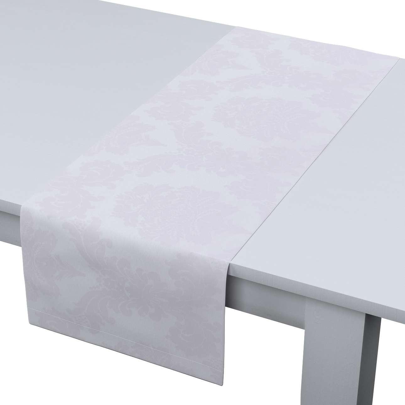 Rechteckiger Tischläufer 40 x 130 cm von der Kollektion Damasco, Stoff: 613-00
