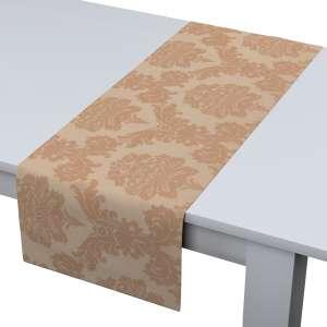 Rechteckiger Tischläufer 40 x 130 cm von der Kollektion Damasco, Stoff: 613-04
