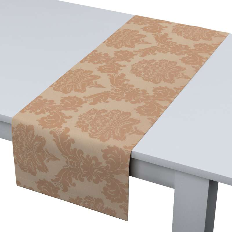 Table runner in collection Damasco, fabric: 613-04