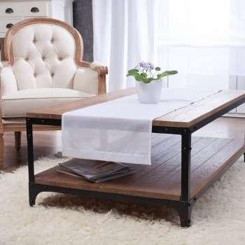 Asztali futó a kollekcióból Lakástextil Romantica, Dekoranyag: 128-77