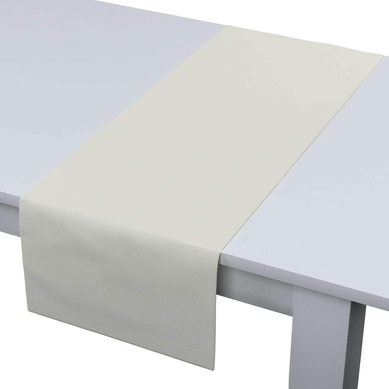 Rechteckiger Tischläufer 40 x 130 cm von der Kollektion Jupiter, Stoff: 127-00