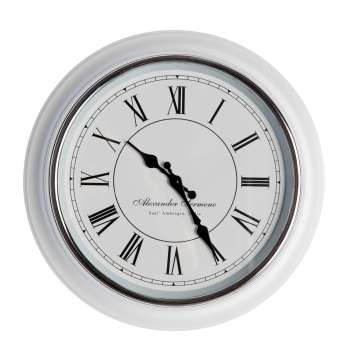 Zegar ścienny Alexander 39,5cm white