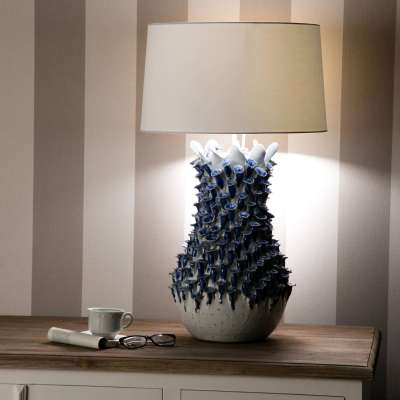 Tafellamp Fleur De Lys 80cm Lampen - Dekoria.nl