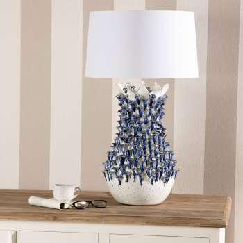 Tischlampe Fleur De Lys 80cm 50x50x80cm