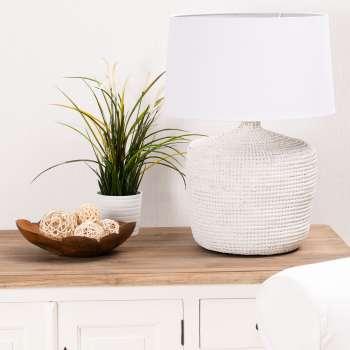 Lampa stołowa Coastal White wys. 66cm 45x45x66cm