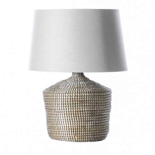 Tischlampe Coastal Brown 70cm