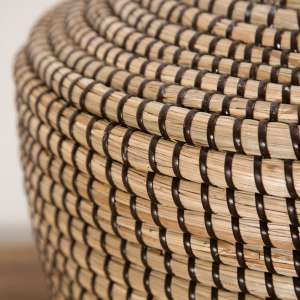 Lampa stołowa Coastal Brown wys. 70cm 45x45x70cm