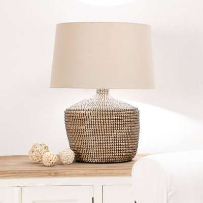 Lampa stołowa Coastal Brown wys. 70cm