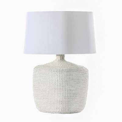 Tafellamp Coastal White 66cm