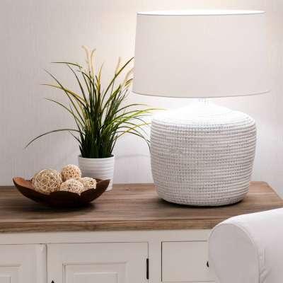 Tischlampe Coastal White 62cm