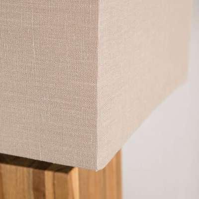 Lampa stołowa Cube Line Teak wys. 68cm