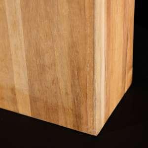 Lampa stołowa Cube Line Teak wys. 56cm 41x21x56cm