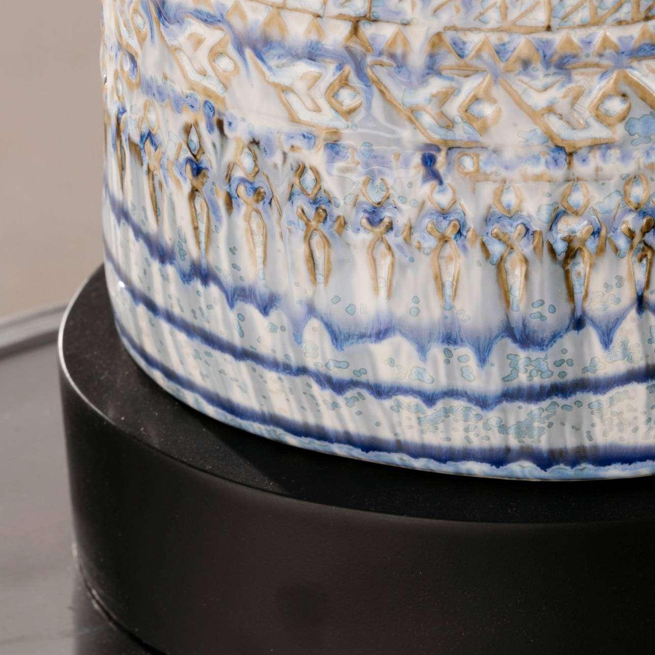 Tischlampe Royal Blue 64cm