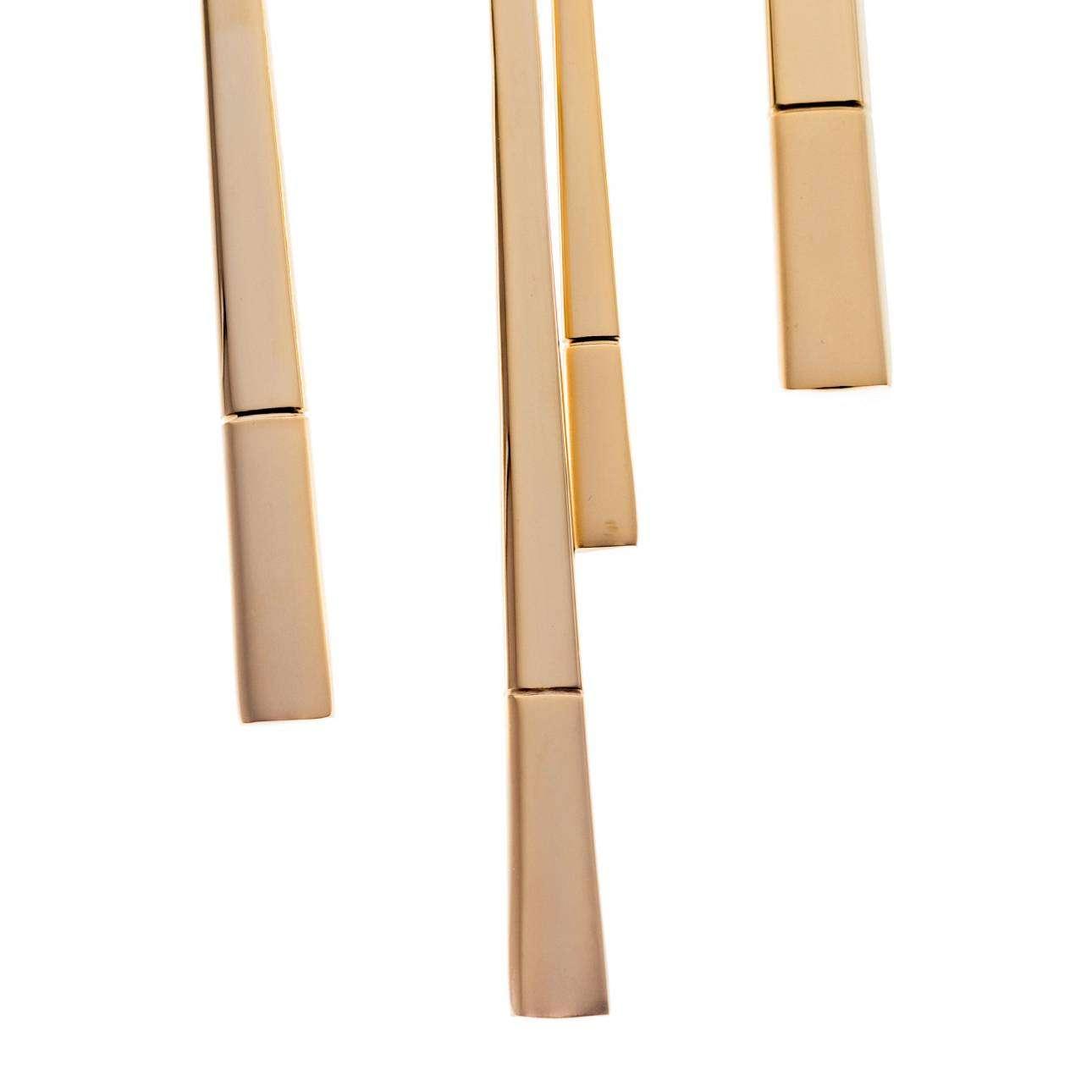 Sztućce Luxus Gold komplet dla 6 osób 24 części 43,5x32,5x6cm