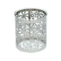Teelichthalter Christmas Time Silver 10,5cm
