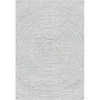 Teppich Breeze Circles wool/cliff grey 200x290cm