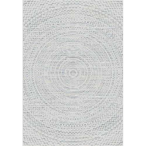 Teppich Breeze Circles wool/cliff grey 200x290cm