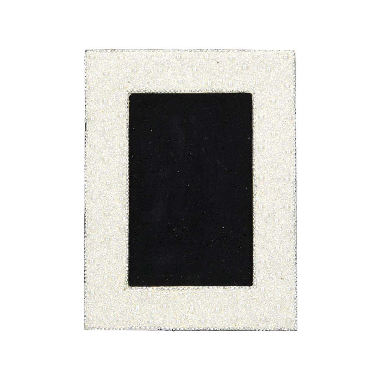 Fotorahmen Carina 15,5x1,5x20,5cm, 15,5 × 1,5 × 20,5 cm | Dekoration > Bilder und Rahmen > Rahmen | Cremeweiß | Mdf | Dekoria