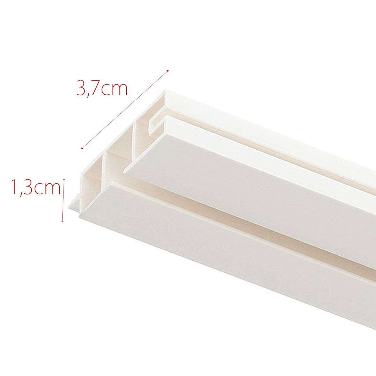 Szyna przysufitowa pojedyncza prosta 150cm 150cm