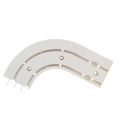 Set or 2 Duo Curtain Track Arches (Rail-end Arch)