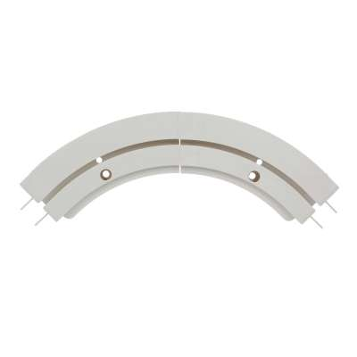 Curtain Track Arch (Mid-section Arch) Ceiling Curtain Tracks - Dekoria.co.uk