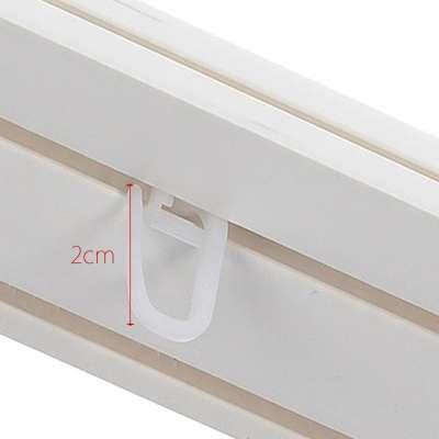 Gardinenröllchen 1 Stck. Produktserie Deckenschienen - Dekoria.de