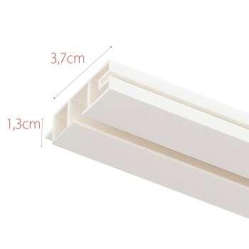 Szyna przysufitowa pojedyncza prosta 210cm 210cm